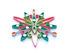 Quilled Christmas decoration