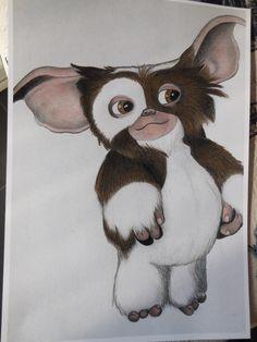 Gizmo gekleurd met Lyra Rembrandt Polycolor