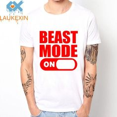 BEAST MODE ON Mens T shirt