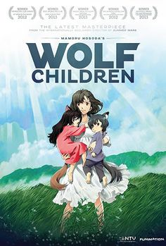 Wolf Children is a 2012 Japanese animated film directed by Mamoru Hosoda. Beau Film, Movies Must See, Movies To Watch, Film Anime, Anime Manga, Anime Wolf, Kid Movies, Horror Movies, Netflix Movies