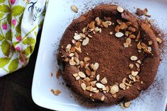 Chocolate Cake with AlmondFlour