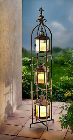 This Candle Lanterns are incredible at making your home a good-looking place. - This Candle Lanterns are incredible at making your home a good-looking place. Home Decor Accessories, Decorative Accessories, Modern White Bathroom, Wrought Iron Decor, Design Jardin, Lanterns Decor, Indoor Candle Lanterns, Christian Wall Art, Rustic Wedding Decorations