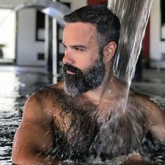 Mostly Hairy and Hot Guys. Few Pakistani men. All pictures are from Internet. Great Beards, Awesome Beards, Scruffy Men, Hairy Men, Moustaches, Bear Men, Hommes Sexy, Beard Tattoo, Beard No Mustache