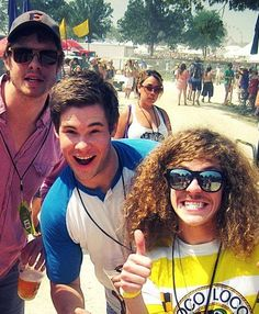Anders Holm, Adam DeVine and Blake Anderson. Workaholics crew  I loooove workaholics