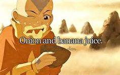 aang banana onion juice