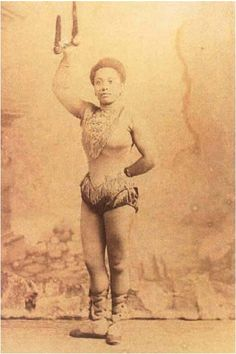 Miss Lala. Acrobat, wirewalker, trapeze artist and strongwoman. Miss La La's real name may have been Olga Kaira. She was born in 1858 in Stettin, ...