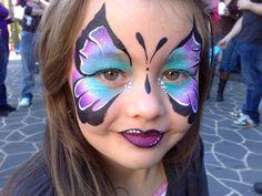 Beautiful Butterflies - Nat's Fancy Faces - Face Painting Sydney