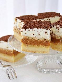 Ciasto Toffi (bez pieczenia), ciasto, bez pieczenia, toffi, http://najsmaczniejsze.pl #food #cake #toffi