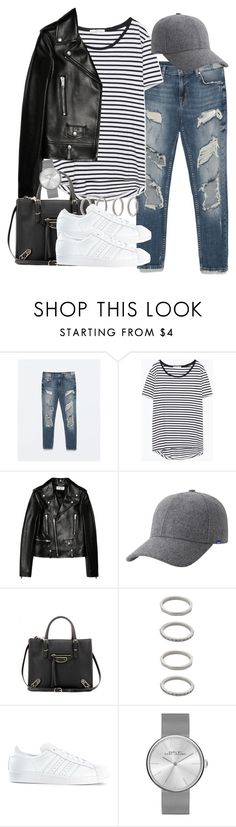 """""""Sin título #3521"""" by hellomissapple on Polyvore featuring moda, Zara, Yves Saint Laurent, Keds, Balenciaga, Forever 21, adidas, Marc by Marc Jacobs, women's clothing y women"""