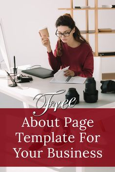 Create a professionally laid out About Us page in no time with this free template. Wordpress Website Builder, Wordpress Website Development, Website Development Company, Website Design Cost, Website Design Services, Website Design Company, Website Web, Website Themes, Free Web Design