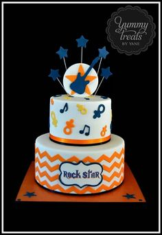 Rock Star cake.