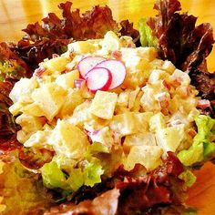 One Perfect Bite: New-Fashioned Potato Salad with Radishes and Sweet Pickle Relish