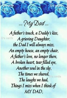 For Dads In loving memory/card/keepsake/Grave/dad/daddy/grandad ect fathers day birthday Miss My Daddy, Miss You Dad, Love You Dad, Rip Daddy, Tio Jesse, Grieving Daughter, Missing Dad, Missing My Dad Quotes, Dad In Heaven