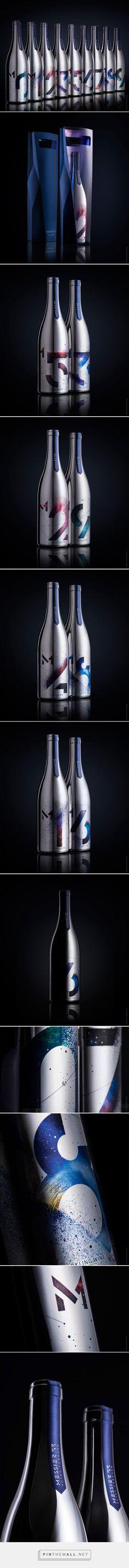 Messier 53 Wine packaging design by Backbone Branding - https://www.packagingoftheworld.com/2018/07/messier-53-wine.html