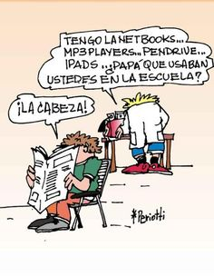 Funny...this pinner questioned the verb tense; obviously more advanced than I am Haha!    Imperfect  ~ ¿Qué usaban en la escuela?
