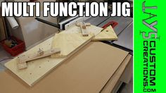 Multi Function Table Saw Hold Down Jig - 136