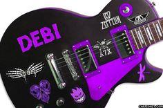 DEBI - Guitar Photo