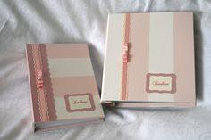 Kit para Isadora: livro do bebê e álbum