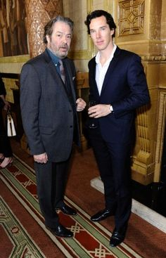 Roger Allam with Ben ... Cabin Pressure feels <3