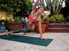 Beginners Power Vinyasa Yoga Class Full Length Weight Loss Hatha Twists - YouTube