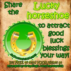 Abundance Angel - Irish blessing - Magic witch - Lucky horseshoe - Image quotes - Sayings - Good luck - Wishes Lucky Horseshoe, Good Luck Wishes, Dream Catcher Necklace, Lucky Bamboo, Lucky Penny, Inspirational Quotes, Inspirational Jewelry, Irish Blessing