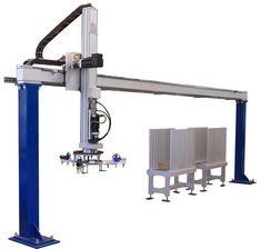ALFIO, Oddělování a polohování dřevěných výrobků Robot, Robots