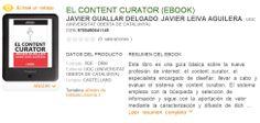 El content curator en ebook (pdf)   Los Content Curators