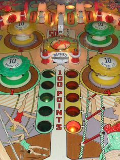 vintage pinball machine by CyrusK-79, via Flickr