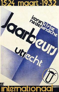 koninklijke nederlandsche Jaarbeurs Utrecht - 64x99, 1932  by  Anonymous