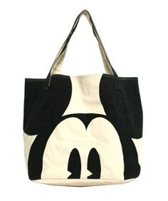 Tote Bag Disney New Mickey Mouse Face Eyes Hand Lady Purse Licensed WDTB0191 | eBay