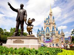 The purported happiest place on Earth, Disney's Magic Kingdom is sure to entertain the kids - whether with one of their parades or classic rides like Space Mountain.