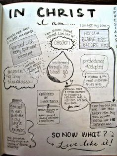 Bible verses and devotioal thoughts in visual sketches Stone Soup for Five: What's in my Bible Journal?