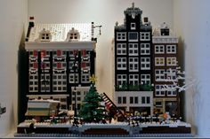 Amsterdam winter street