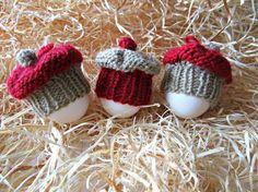 Easter egg hats Cake egg cozy Egg warmer Knit by IrinasSTRICKMODE