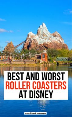 9 best and worst roller coasters at disney | best and worst disney roller coasters | best rides at disney | best thrill rides at disney | best disney world thrill rides | disney travel tips | best roller coasters at disney world | best things to do at disney #disney #disneyworld #rollercoaster Visit Florida, Florida Travel, California Travel, Asia Travel, Travel Usa, Travel Tips, Travel Destinations, Southern California, Travel Guides