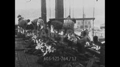The Skyscrapers of New York / Brano di un film / 1906 | null clip 603-521-764 in HD | Framepool Stock Footage