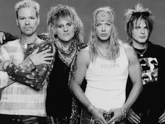 Poison, one of the kings of the 80's hair bands. For more on hair bands go to http://www.hardcoretroubadour.com/