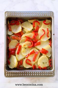 Side Dishes, Oven, Food And Drink, Baking, Vegetables, Easy, Baked Potatoes, Spanish, Yoga