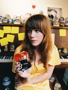 Jenny Lewis - total girl crush, but more like I want to be her. She's so cool. Ever since Troop Beverly Hills!