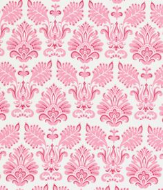 Tilda Fabric Betsy Pink & White
