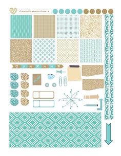 Horiz November Sparkle Sticker Set-page0001