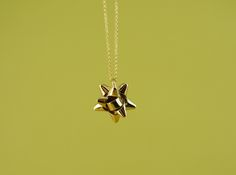 Bow Pendant by BlessThisMessNYC