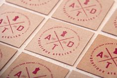 ATD BOUTIQUE ATELIER BRANDING by Marie-Michelle Dupuis, via Behance