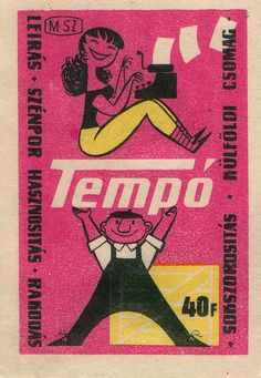 hungarian matchbox label | Flickr - Photo Sharing!