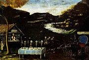 "New artwork for sale! - "" Phaeton And The Night Feast by Pirosmani Niko "" - http://ift.tt/2r5R03f"