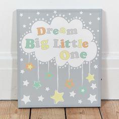 Dream Big Light Up Canvas