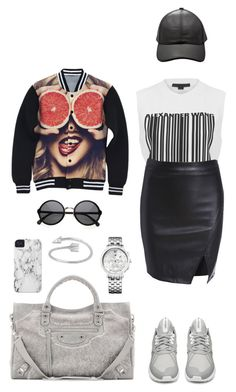 """Juicy"" by lachrodemode on Polyvore featuring mode, Alexander Wang, adidas, Case-Mate, Tommy Hilfiger et Balenciaga"