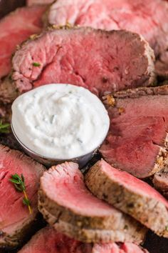 Creamy Horseradish Sauce rivals the best Steakhouse sauce! Excellent paired with… Creamy Horseradish Sauce rivals the best Steakhouse sauce! Excellent paired with prime rib, beef tenderloin or steak. Learn how to make Horseradish Sauce. How To Make Horseradish, Creamy Horseradish Sauce, Prime Rib Horseradish Sauce, Creamy Steak Sauce, Homemade Horseradish, Horseradish Recipes, Sauce Recipes, Beef Recipes, Cooking Recipes