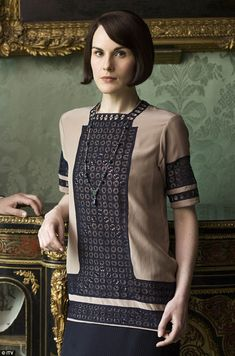 And the drama comes to an end: Lady Mary Crawley revealed herself to be a 'nasty, jealous, scheming bitch' - according to Lady Edith - in the finale of the last series of Downton Abbey, before the Christmas special
