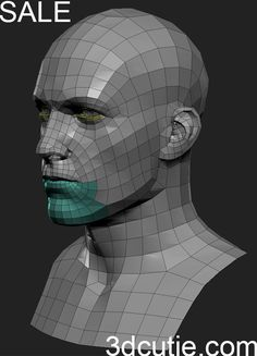 Eof's Sketchbook (base mesh to share Page page - Page 85 3d Model Character, Character Modeling, Character Design, Zbrush, Blender 3d, Face Topology, Polygon Modeling, Head Anatomy, 3d Mesh